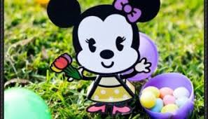 minnie mouse easter egg new paper craft disney minnie mouse easter egg free papercraft