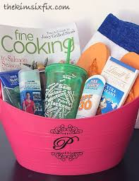 summer gift basket summer is here end of year gift the six fix