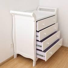 Pine Changing Table by Bnib White New Zealand Pine Baby Change Table 4 Chest Of Drawers