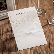 pocket invites white lace wedding invitations pocket invites picky