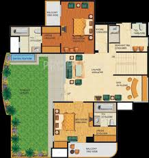 4968 sq ft 5 bhk 5t apartment for sale in supertech emerald court