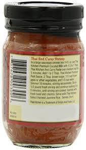 Red Kitchen Recipes - amazon com thai kitchen red curry paste 4 ounce jars pack of