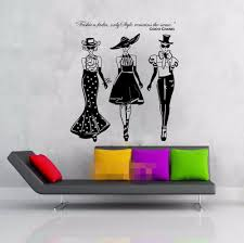 online buy wholesale stickers coco from china stickers coco free shipping women ladies fashion show coco quote wall decal vinyl sticker art home decorative girl