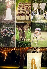 Country Wedding Decoration Ideas Triyae Com U003d Diy Backyard Wedding Decoration Ideas Various