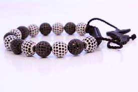 onyx bracelet with diamonds images Black onyx with helmet bracelet noral collections handcrafted JPG