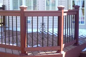 deck railings pictures custom deck railing spindles and balusters