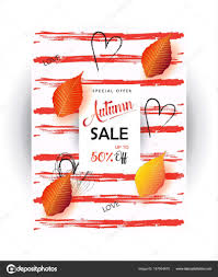 half price gift cards mid season sale poster autumn sale discount gift card fall maple