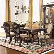 fairmont designs grand estates 7 piece rectangular dining set in
