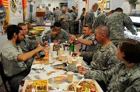 happy thanksgiving and wishes to our troops eliminate the muda