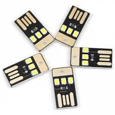 white light 5pcs 0 2w 3 x smd 2835 22lm usb led light portable