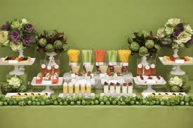 fruit table display ideas fruit and veggie table bar oh my creative