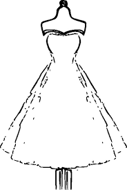 coloring pages wedding dresses wedding dresses