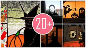 how to make halloween window silhouettes tos diy a haunted hotel