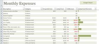best photos of household budget template categories free