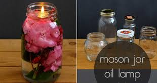 make your own wonderfully scented mason jar oil candle
