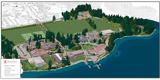 Victoria Bc Map Brentwood College Campus Map