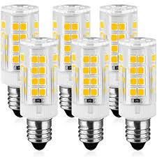 white light bulbs not yellow kindeep e11 led light bulb mini candelabra base ac 110v 130 volt