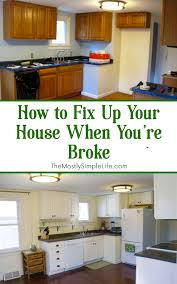 diy home renovation on a budget how to fix up your house when you re broke remodeled kitchens