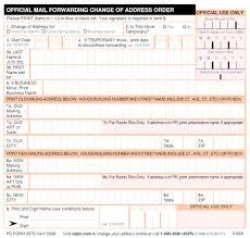 usps change of address online postal service change mailing address