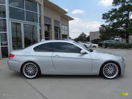 2007 bmw 328i silver titanium silver metallic 2007 bmw 3 series 335i coupe exterior