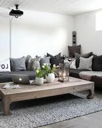 canapé cosy un salon en gris et blanc c est chic voilà 82 photos qui en témoignent