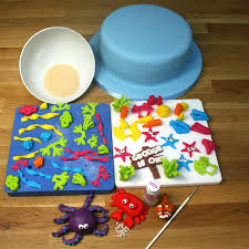 Home Decorated Cakes by Under The Sea Cake Tutorials Sugarpaste Coral U0026 Sponges