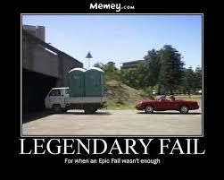 Poster Meme - legendary fail funny truck meme poster