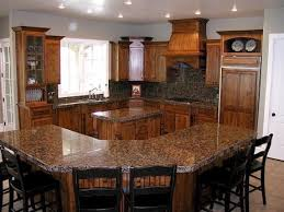 kitchen with 2 islands islands