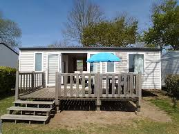 chalet style mobile homes mobile home on 5 star camp site with