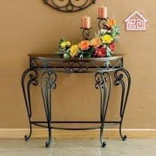 Wall Console Table Wrought Iron Foyer Table Foter