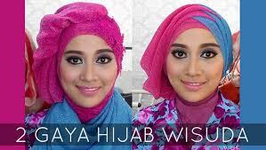Tutorial Hijab Pesta 2 Kerudung | tutorial hijab wisuda 2 hijabstyle dengan hijab savanna mecca