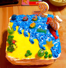 gummy bear beach party birthday cake beene u0027s baking blog