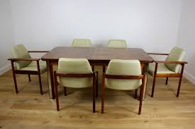 lane furniture dining room mid twentieth century design rosewood dining table and chairs