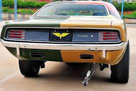 is this wild 1970 plymouth barracuda the most famous muscle car