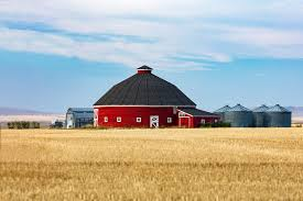 Round Barns In Wisconsin Agriculture Photography By Todd Klassy Barns Photos