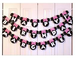 minnie mouse birthday minnie mouse birthday banner minnie mouse 1st birthday party