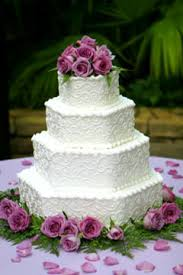 wedding cake buttercream hexagon wedding cake gallery