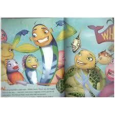 kids age 8 shark tale movie storybook english