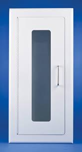 semi recessed fire extinguisher cabinet elite series