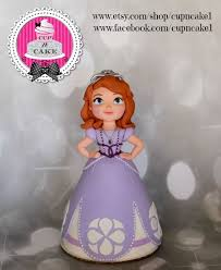 sofia the cake topper sofia the fondant cake topper cake by danielle lechuga