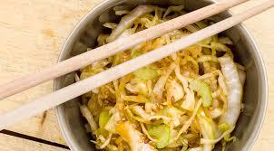 cuisiner le choux une salade japonisante dur à cuire