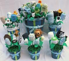 baby shower centerpiece baby shower centerpieces ideas for boys towel with flower