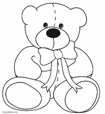 teddy bear coloring 23 free coloring book