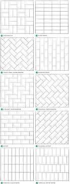 bathroom tile layout ideas glamorous subway tile layout patterns pics inspiration tikspor