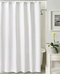 Hotel Shower Curtains Hookless Hotel Shower Curtain Is Usually White Enstructive Com