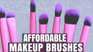 affordable makeup affordable makeup brushes 101