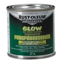 home hardware 207ml glow in the dark latex paint