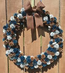 pinecone wreath how to make a pinecone wreath