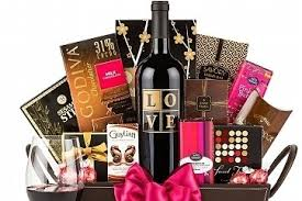 Date Night Basket Com Chocolate U0026 Wine And Date Night Delight To Support Quota