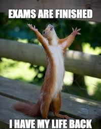 Finished Meme - exams are finished i have my life back downloadfeast